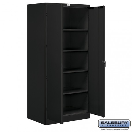 Salsbury storage cabinet standard 78 inches high 24 for Kitchen cabinets 24 inches deep
