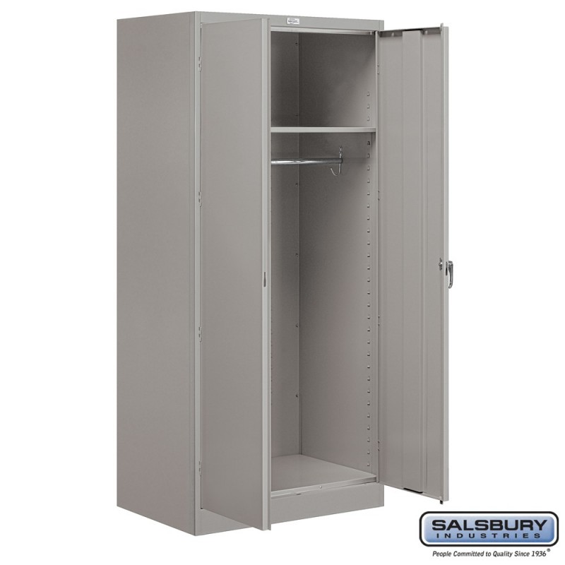 Salsbury Storage Cabinet Wardrobe 78 Inches High 24