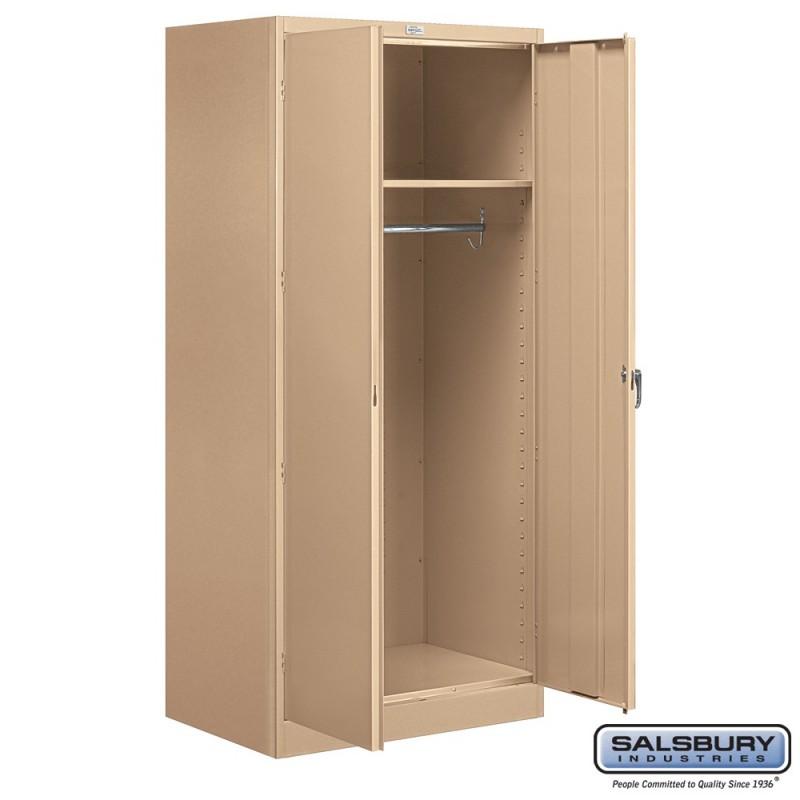 Salsbury Storage Cabinet Wardrobe 78 Inches High 24