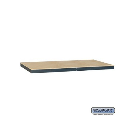 Salsbury Solid Shelving - Additional Shelves for 9742 - 48 Inches Wide- 24 Inches Deep