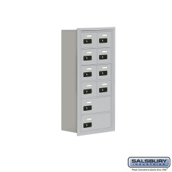 "Salsbury 1916810 Cell Phone Lockers Six Door High, 8"" Deep Compartments with Front Access Panel"