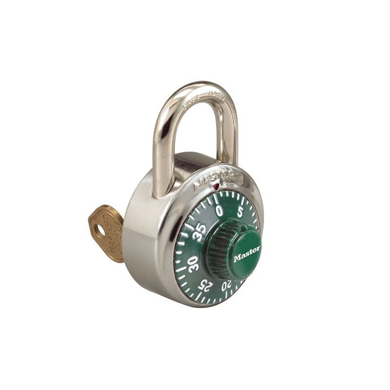 Master Lock 1525 Combination Padlock With Key Control
