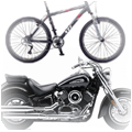 Motorcycle & Bicycle Security
