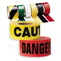 Caution Tape - Barricade, Reflective & Safety Tape